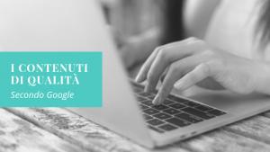 Come scrivere contenuti di qualità per il web